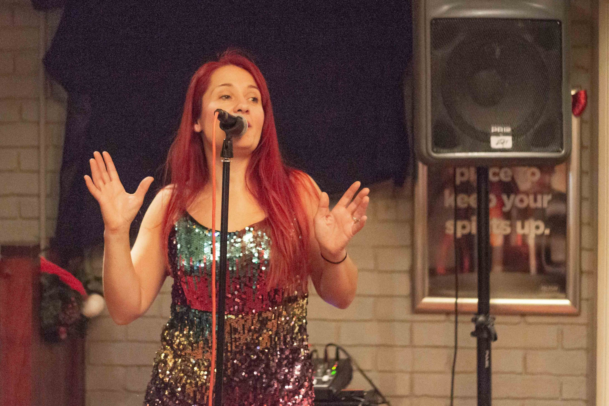 Female Vocalist With Deep Voice