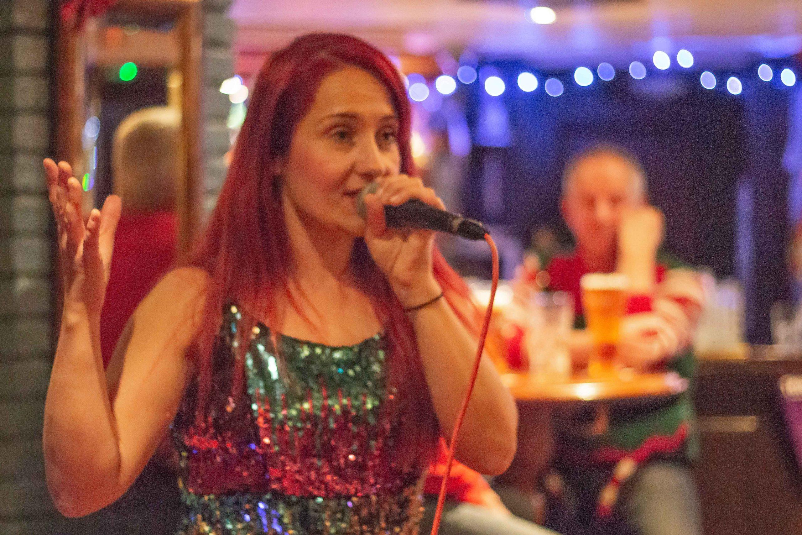 English Female Singer